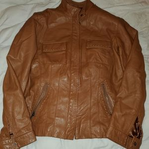 Woman's size 0 Chico's leather Coat